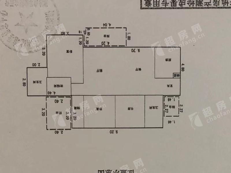華僑城天鵝湖二手房戶型圖