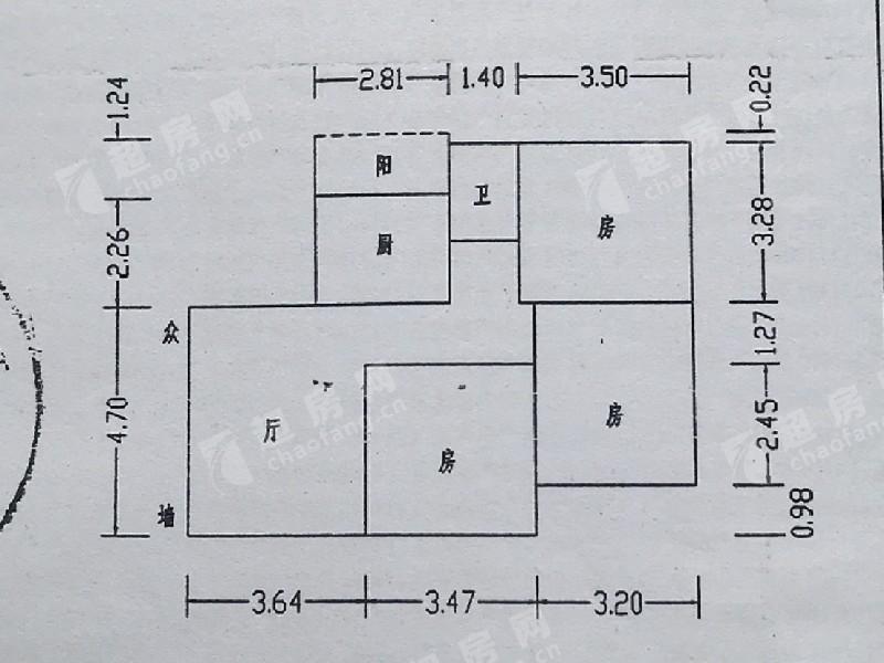 云桂二街二手房戶型圖
