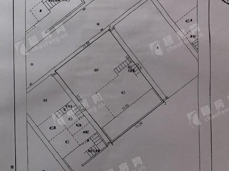 同暉路二手房戶型圖