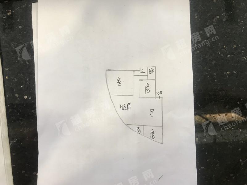 連云路二手房戶型圖