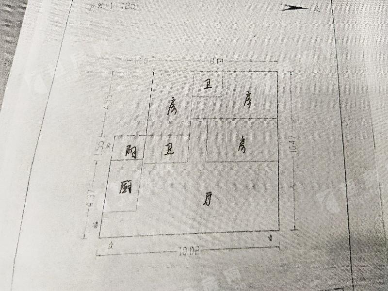 美怡樓二手房戶型圖